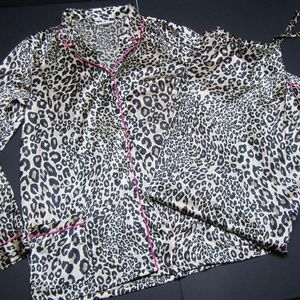Victoria Secret Afterhours Pajama Set PJ Satin XL